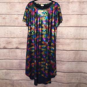 3XL Elegant Collection Rainbow Carly Dress
